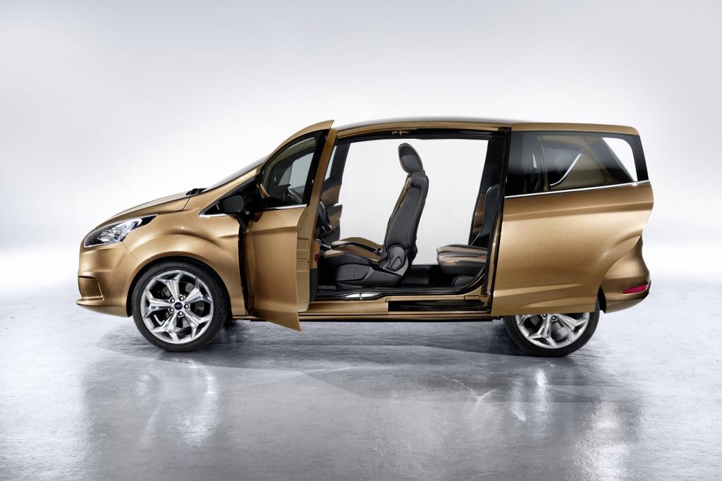 Der Mini-Van mit Schiebetüren soll ohne B-Säule auskommen