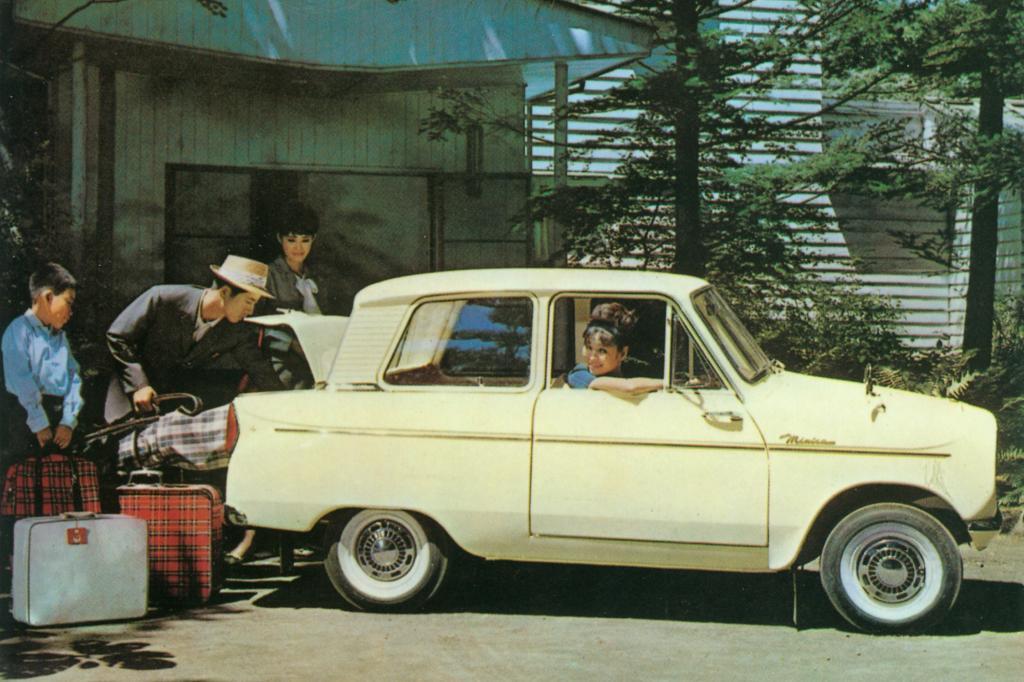Der Mitsubishi Minica soll sich sogar für die Langstrecke eignen