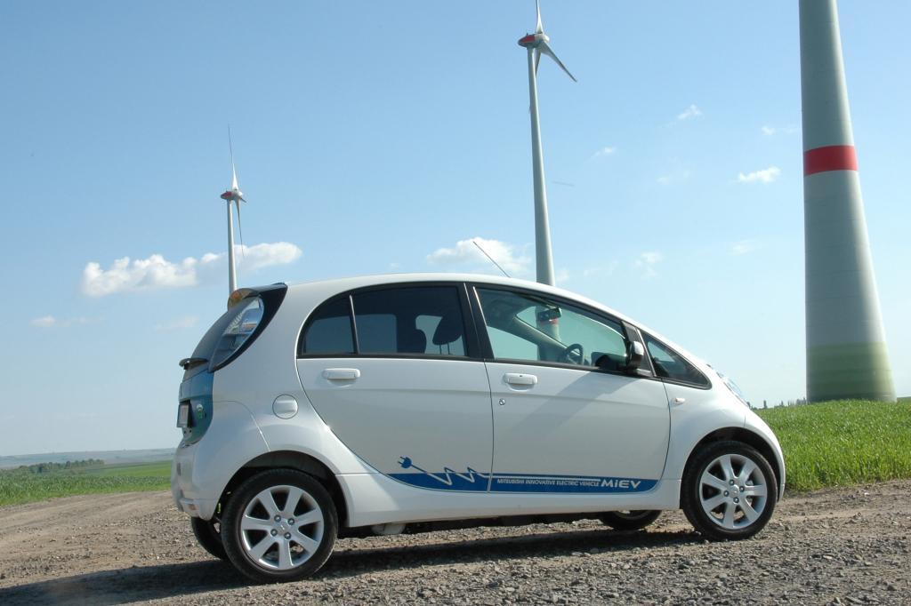 Der Mitsubishi i wurde zum ersten Elektroautos Europas