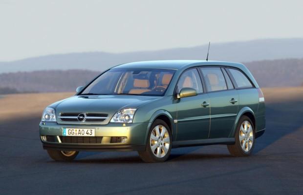 Der Opel Vectra Caravan ist extrem geräumig