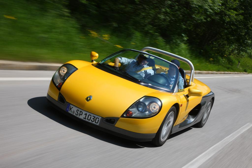 Der Renault Sport Spider ist eine pure Fahrmaschine