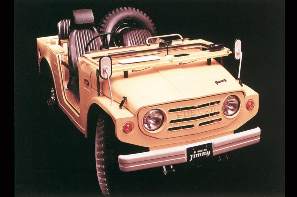 Der Suzuki Jimny war 1970 der kleinste Geländewagen der Welt