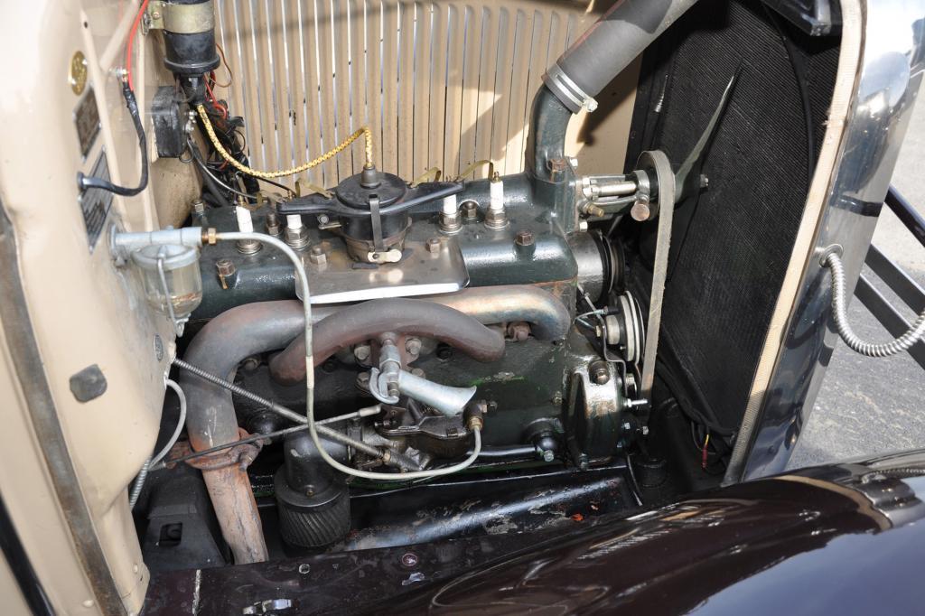 Der Vierzylinder mit 3,3 Liter Hubraum leistet stramme 29 kW/40 PS
