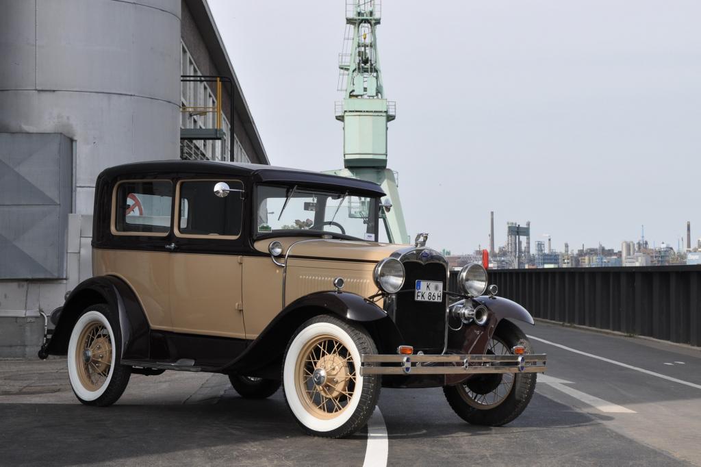 Der erste Pkw vom Typ Modell A lief am 2. Juni 1931 vom Band