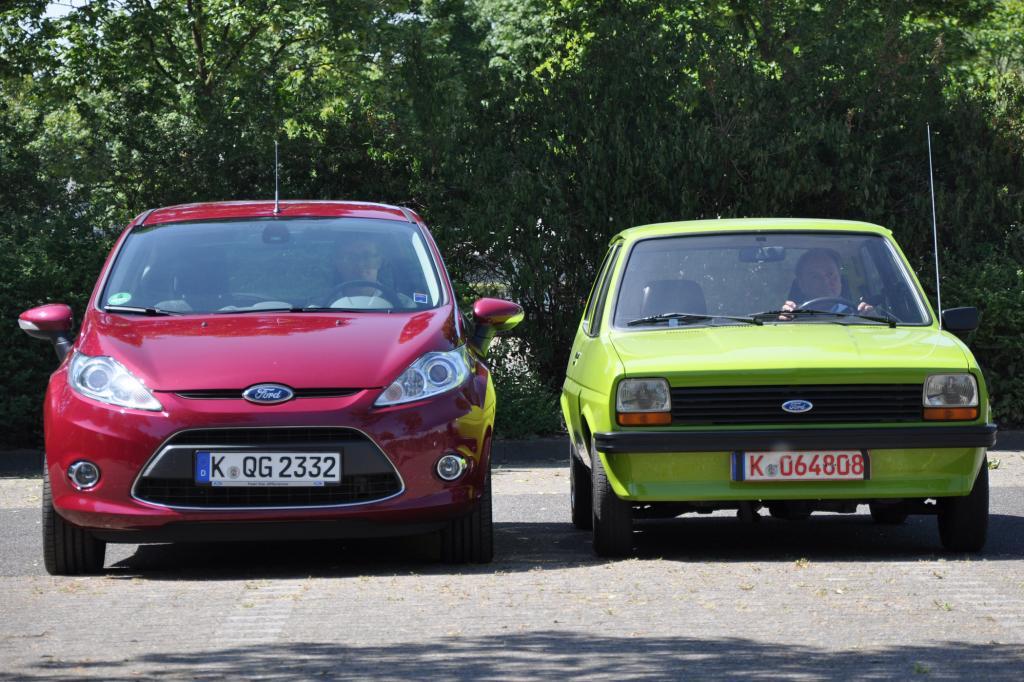 Der neue Fiesta ist nicht nur höher, sondern auch runder