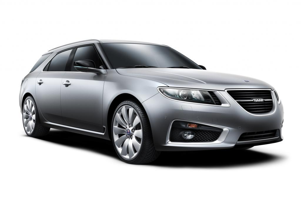 Der neue Saab 9-5 Sport Combi soll die Schweden aus der Krise führen