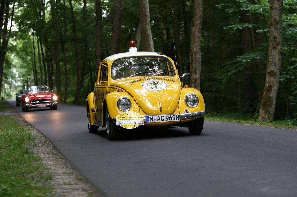 Deutschland Klassik 2011: ADAC-Straßenwacht Volkswagen Käfer von 1969.