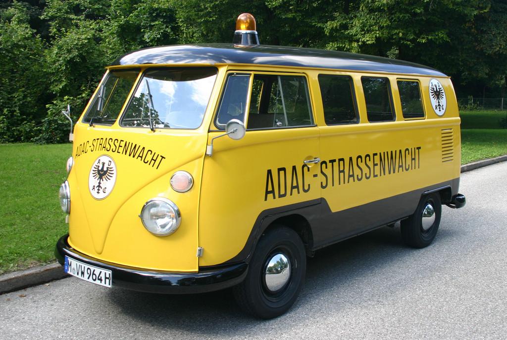 Deutschland Klassik 2011: ADAC-Straßenwacht, Volkswagen T1 von 1964.