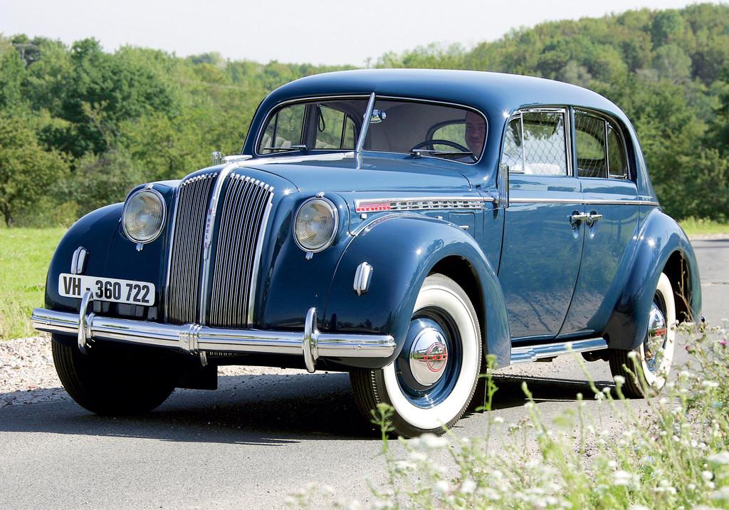 Deutschland Klassik 2011: Opel Admirla von 1938.