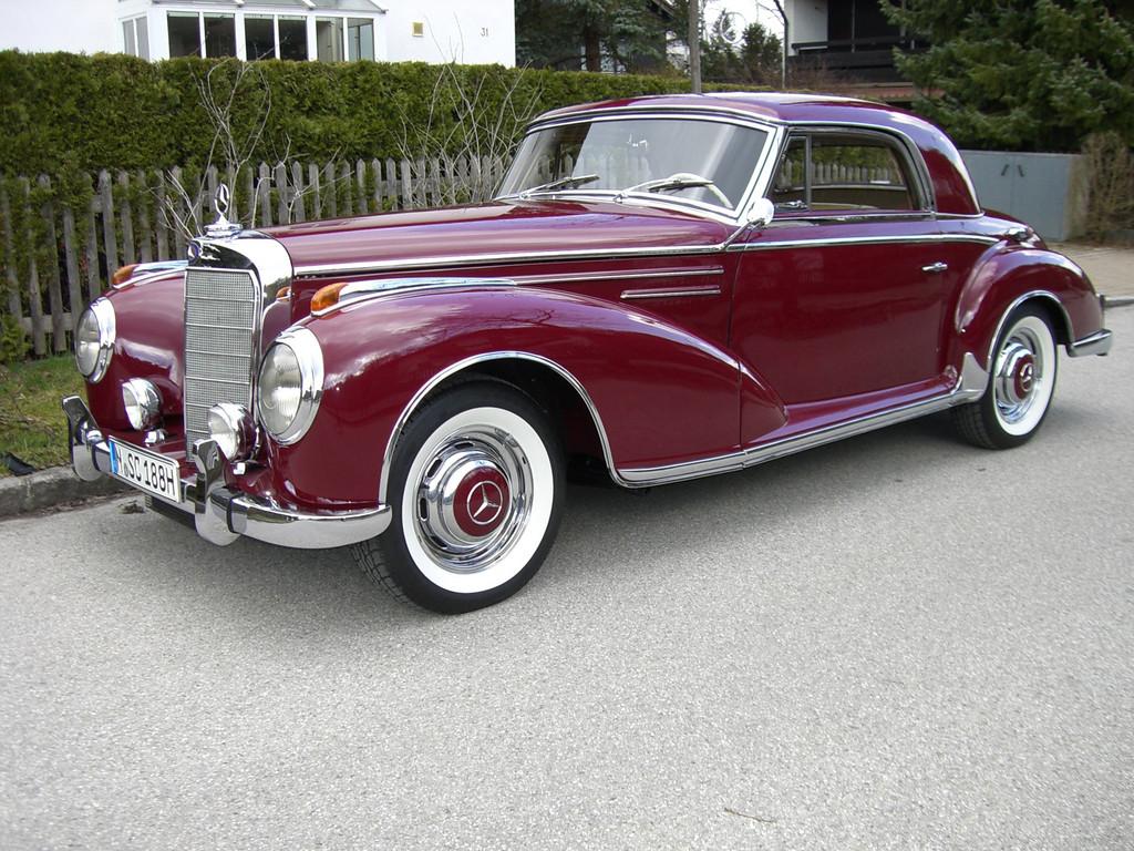 DeutschlandKlassik 2011: Mercedes-Benz SC von 1956.