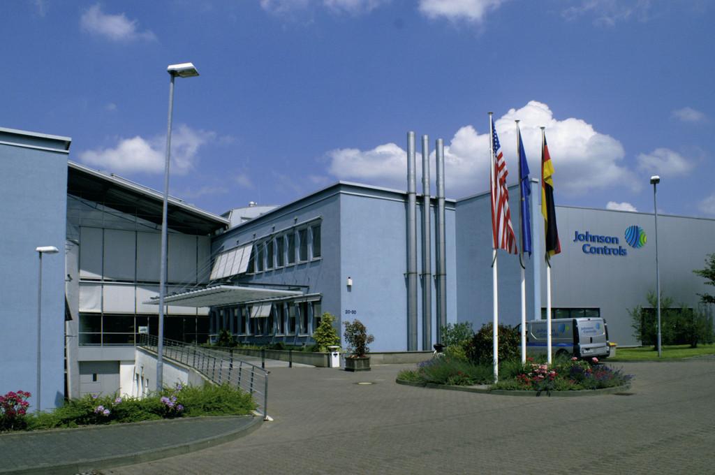 Die Europazentrale von Johnson Controls in Burscheid.