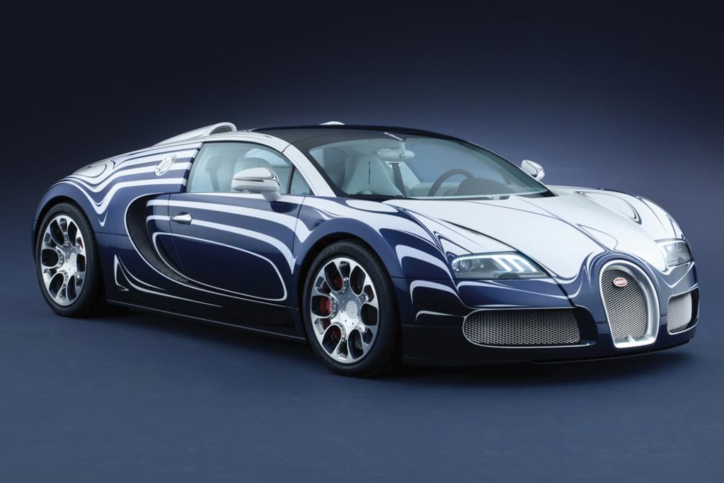 Die Karosserie des Bugatti