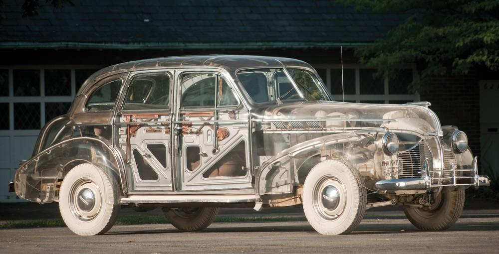 Dieser transparente 1939er Pontiac kommt im Juli unter den Hammer, Foto: RM Auctions
