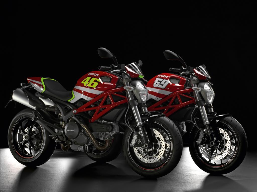 "Ducati Monster mit ""GP Replica""-Kit."