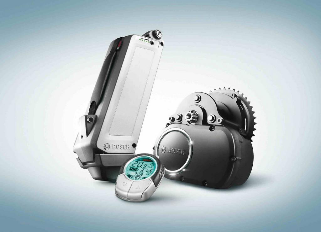 E-Bike-Antriebssystem von Bosch.