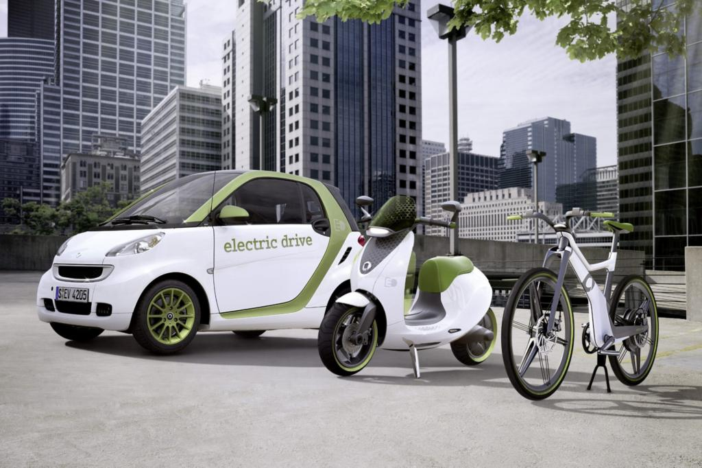 E-Roller statt E-Auto - Die Elektrifizierung beginnt auf zwei Rädern