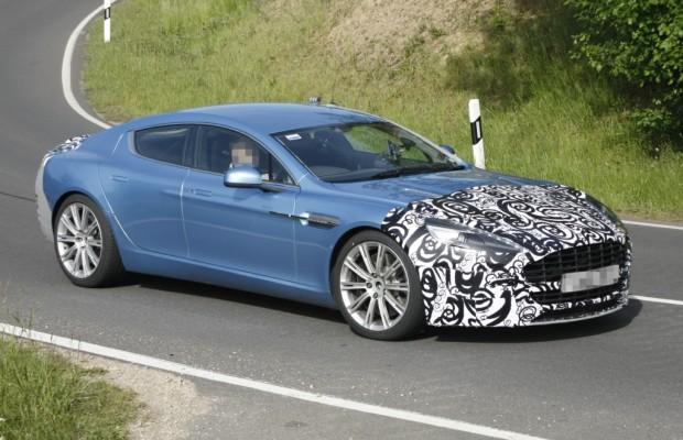 Erwischt: Erlkönig Aston Martin Rapide S – Noch schnellerer Brite