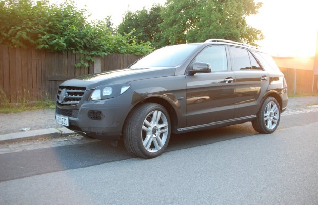 Erwischt: Erlkönig Mercedes-Benz M-Klasse – Premium-SUV in Elbflorenz