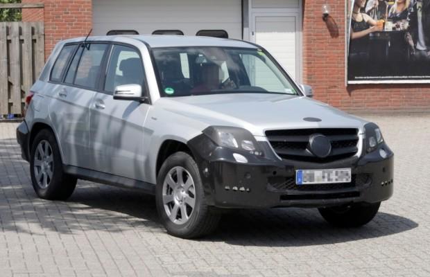Erwischt: Erlkönig Mercedes GLK – Lifting für den Kleinsten