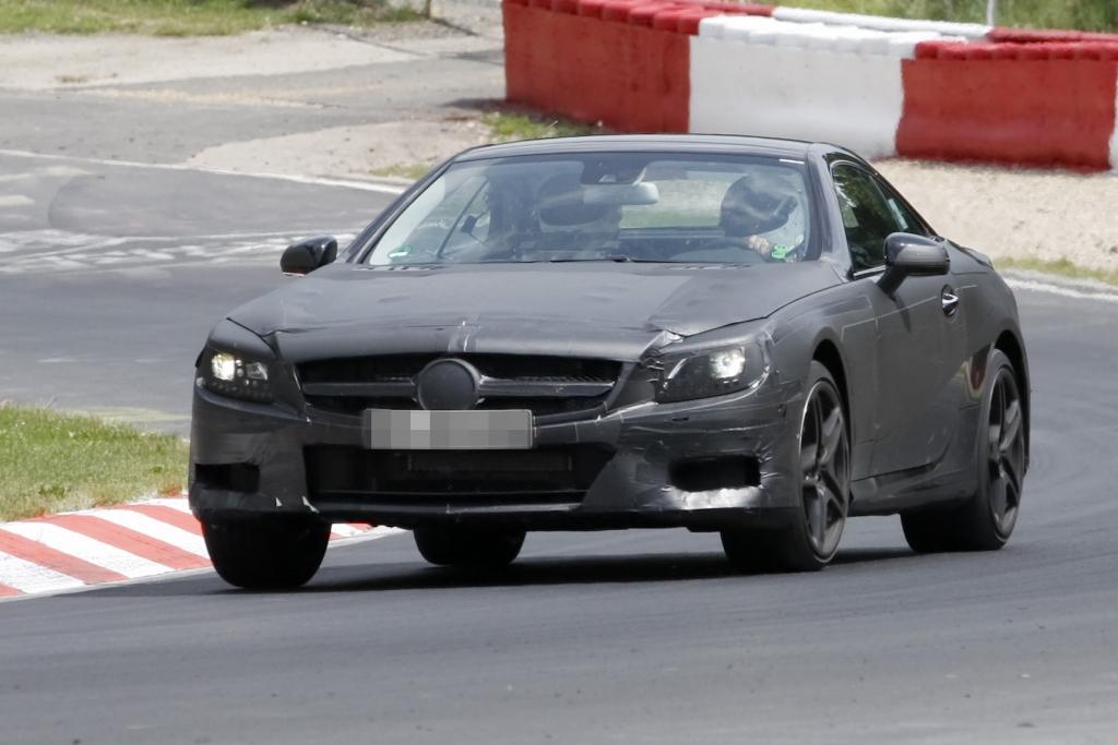 Erwischt: Erlkönig Mercedes SL 55 AMG