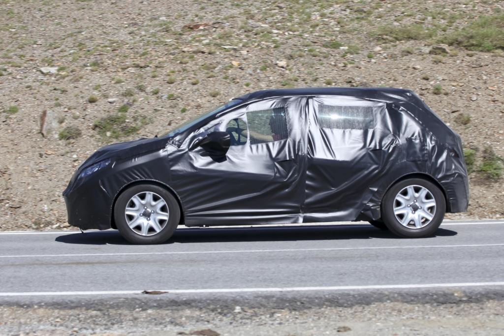 Erwischt – Erlkönig Peugeot 208