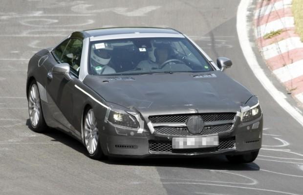 Erwischt – Mercedes-Benz SL