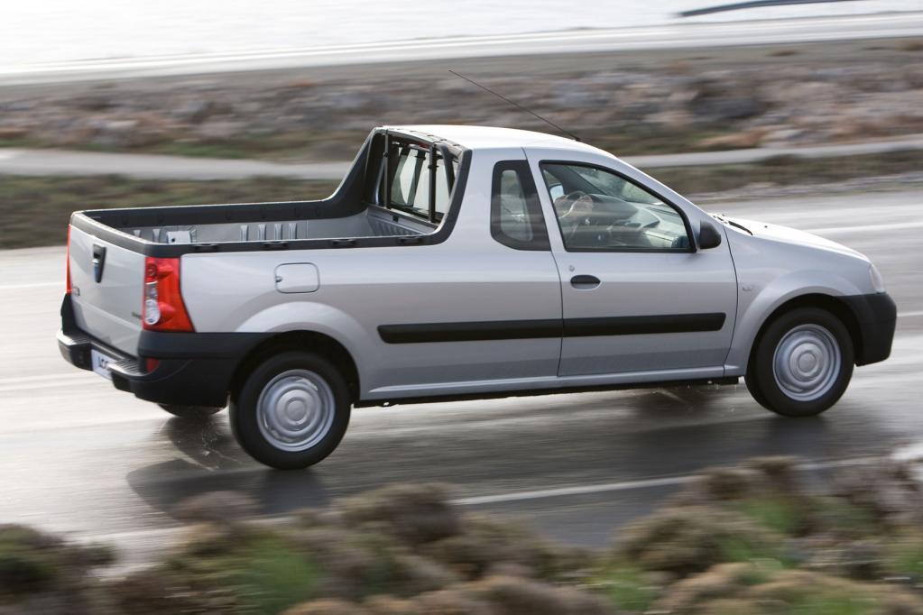 Für die Sparfüchse unter den Pick-up-Liebhabern ist der Dacia Logan die richtige Wahl.