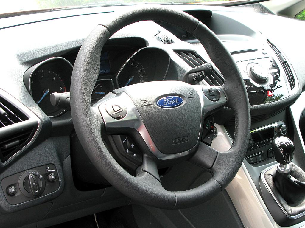 Ford Grand-C-Max: Blick ins Cockpit.
