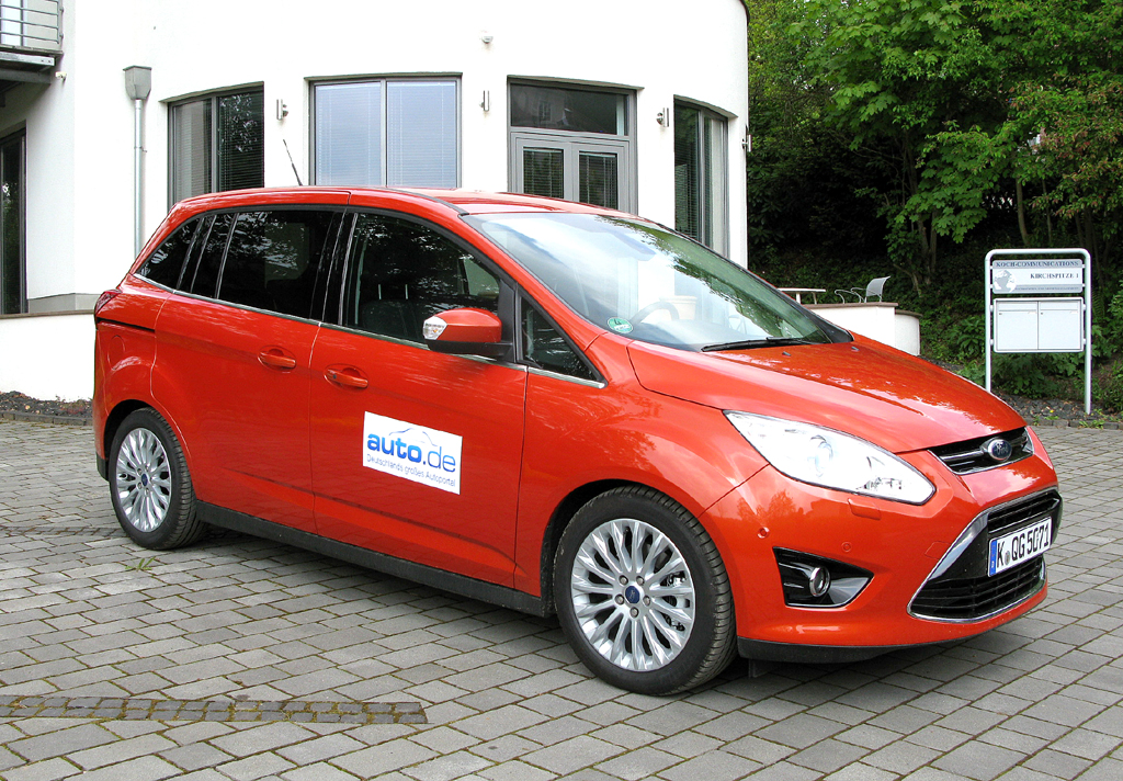 Ford Grand-C-Max, hier als Turbodiesel mit 115 PS.