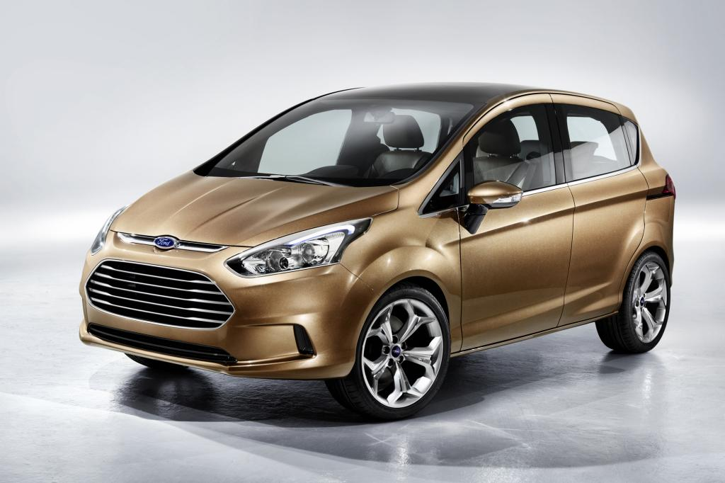Ford bringt Anfang 2012 den B-Max als Fusion-Nachfolger