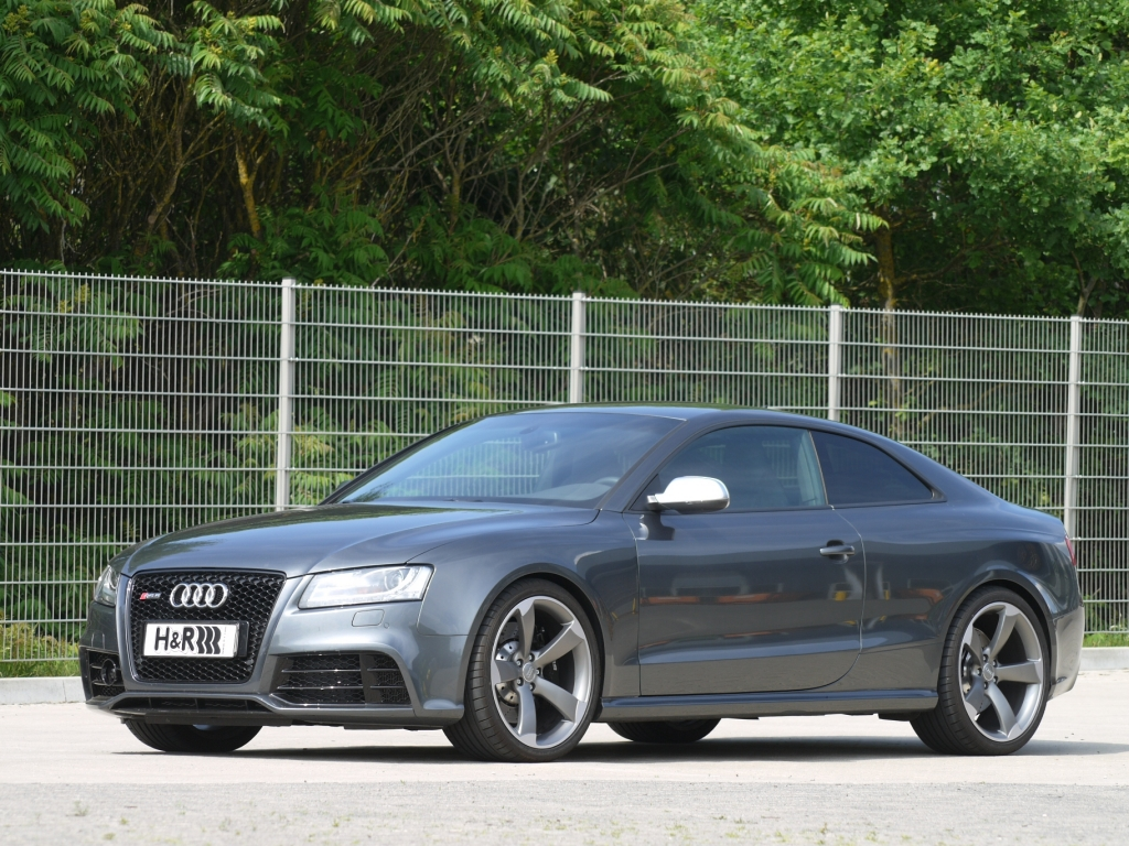 H&R legt Hand an Audi RS5