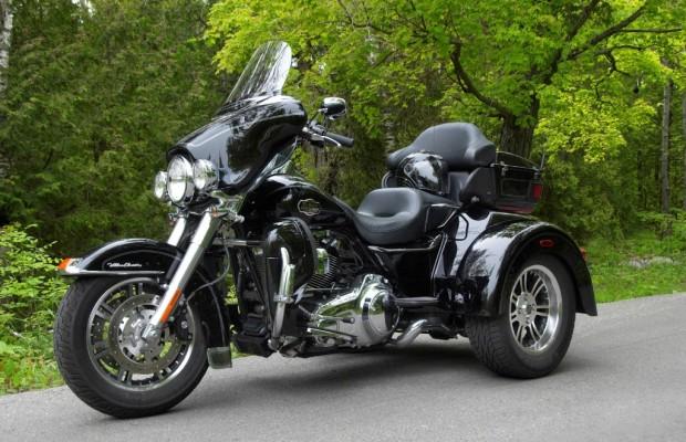 Harley-Davidson Tri Glide Ultra Classic: Eine Harley auf drei Rädern - auch für Autofahrer