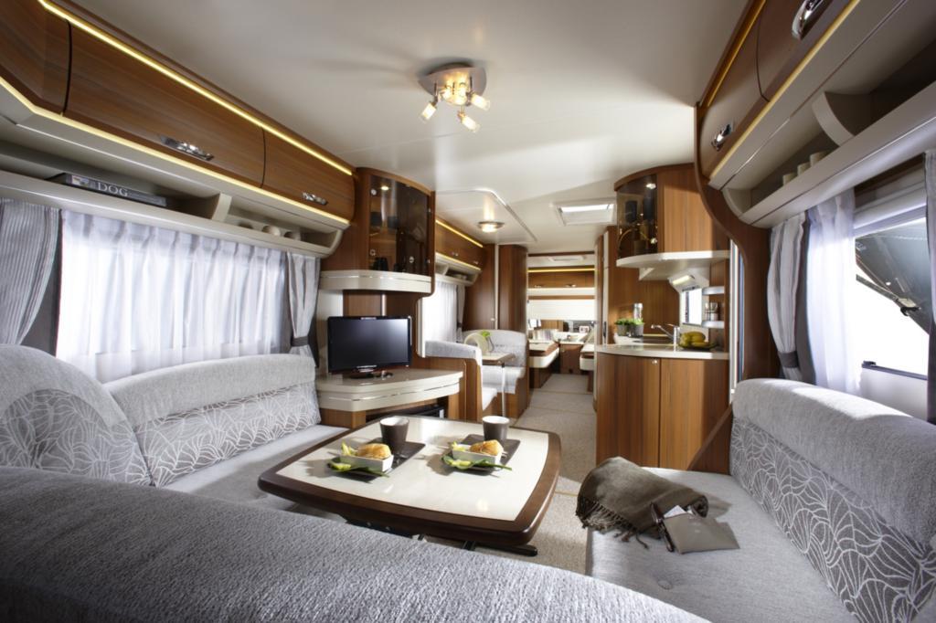 Im Innenraum herrscht Luxus