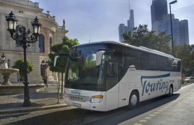 Im Linienbus nach Amsterdam