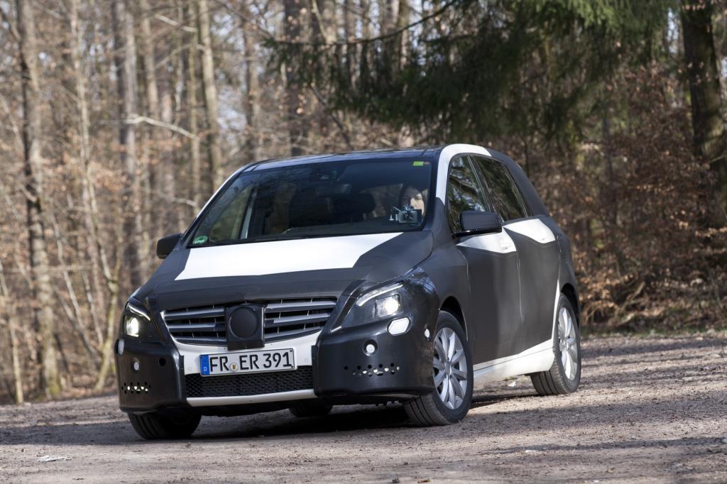 In seine neue, ab November erhältliche B-Klasse steckt Mercedes jede Menge Technik