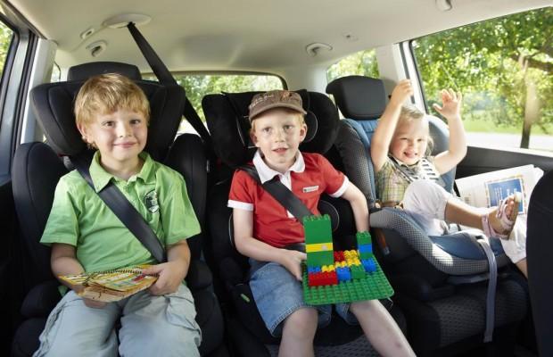 Insassensicherheit - Kinder richtig anschnallen