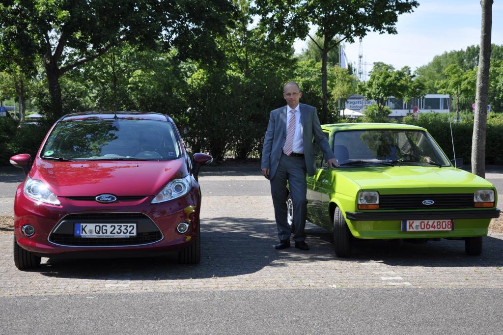 Jörg Beyer ist globaler Entwicklungschef für kleine Fahrzeuge bei Ford
