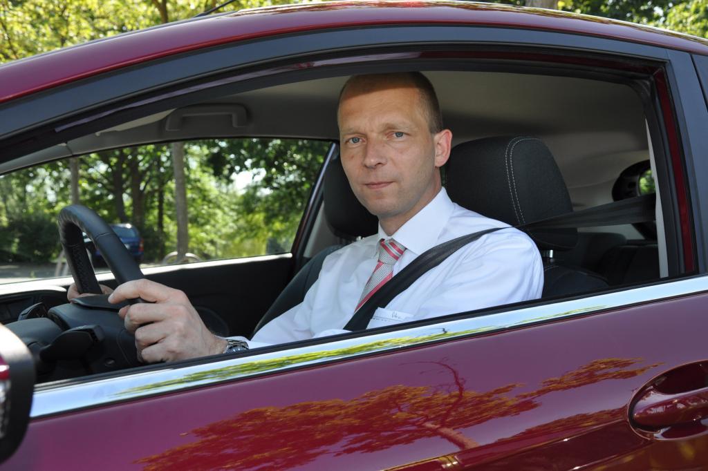 Jörg Beyer kennt den neuen Fiesta in- und auswendig
