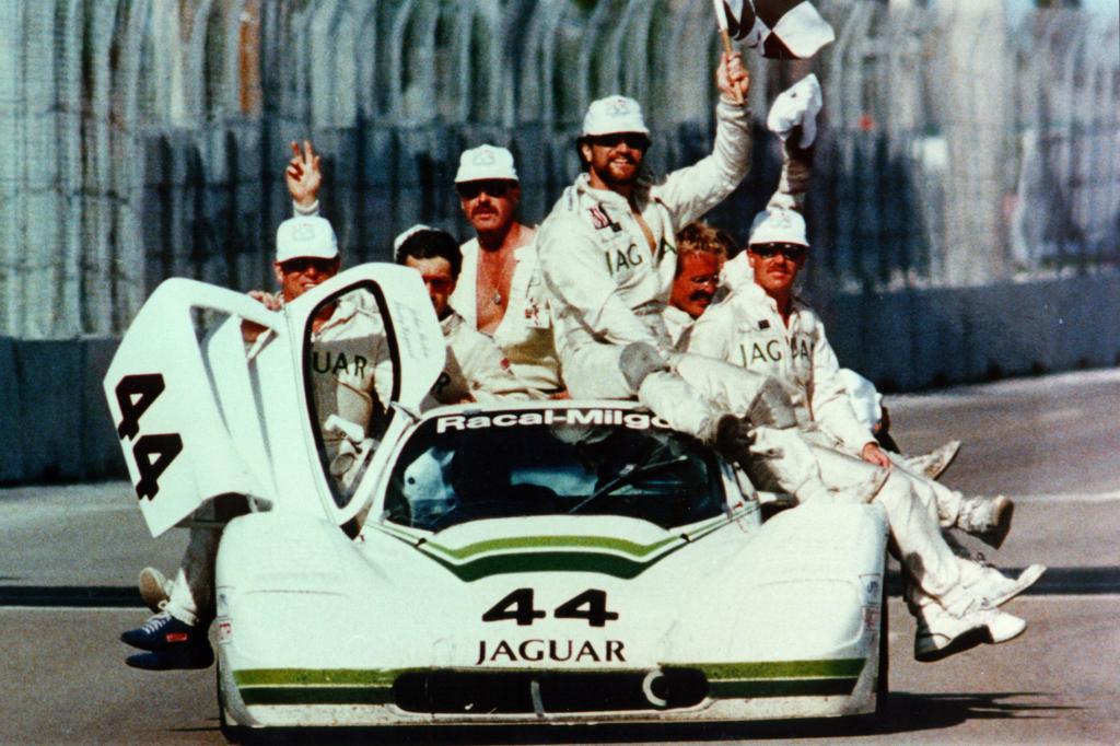 Jaguar XJR 7 Group 44 in West Palm Beach1987