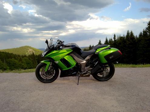Kawasaki Z 1000 SX: Wenns mal schnell gehen muss ...
