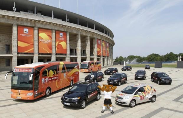 Kia übergibt Fahrzeugflotte für Fußball-Frauen-WM