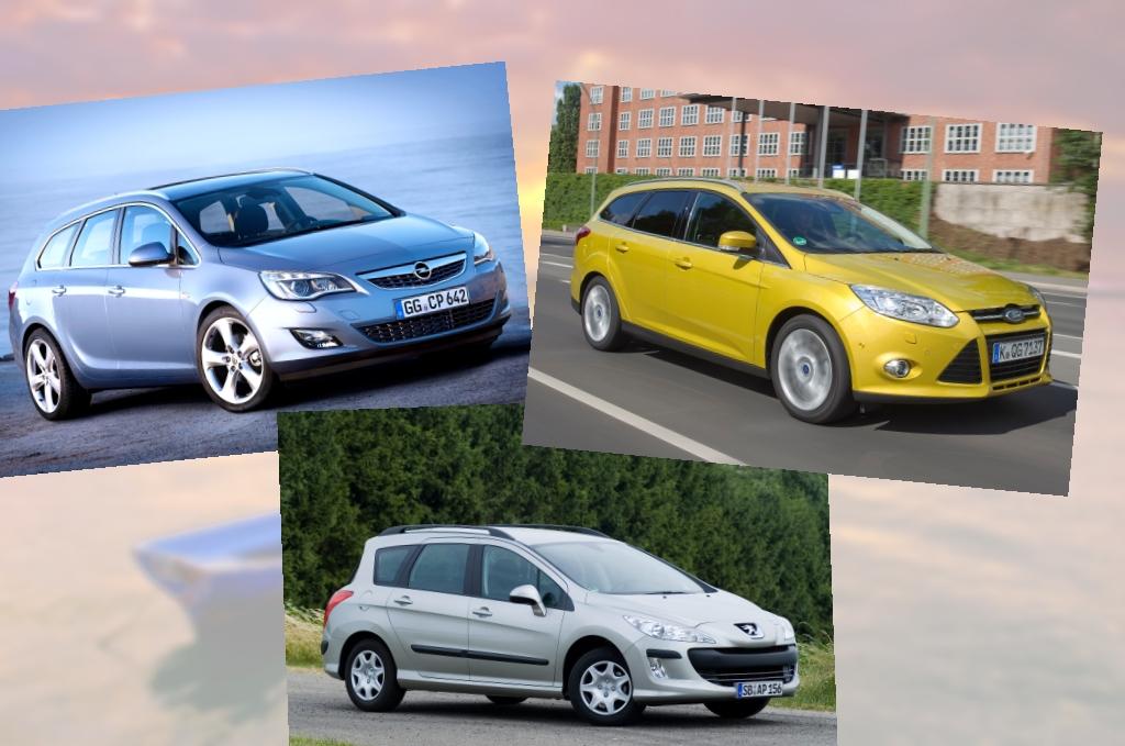 Kompaktkombi-Vergleich: Ford Focus hat die Nase vorn