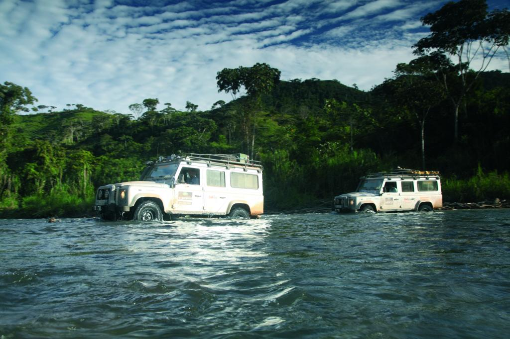 Land Rover Experience Tour 2011.