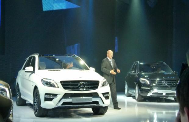 Mercedes-Benz M-Klasse: Das Fahrwerk hält mehr aus als der Fahrer ...