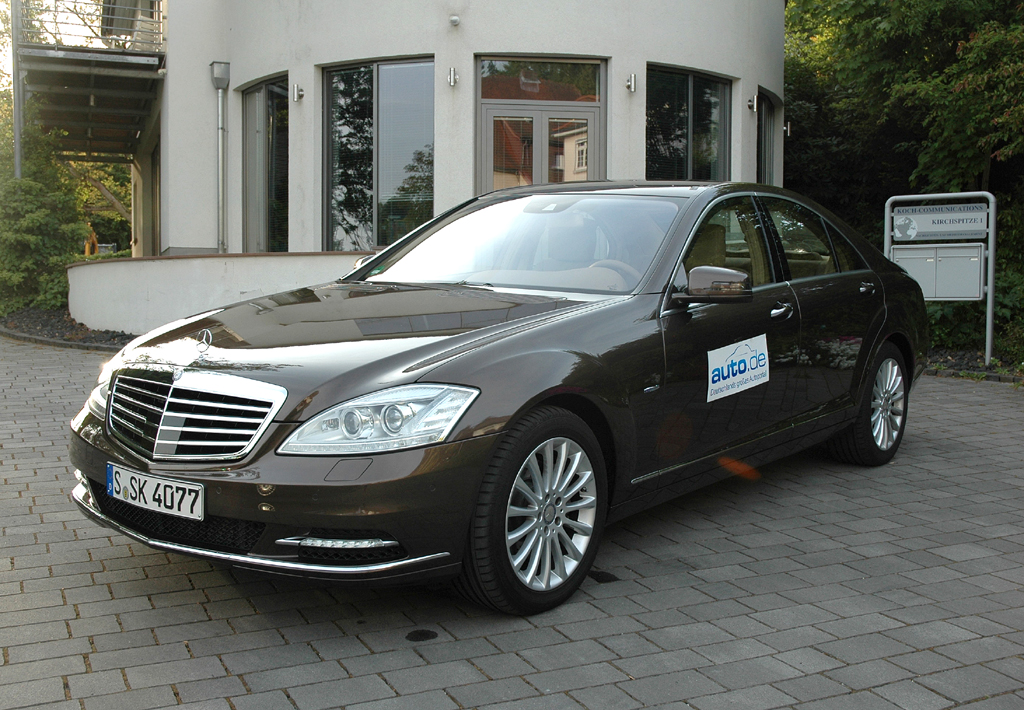 Mercedes S-Klasse, hier als 258-PS-Sechszylinder-Bluetec-Diesel.