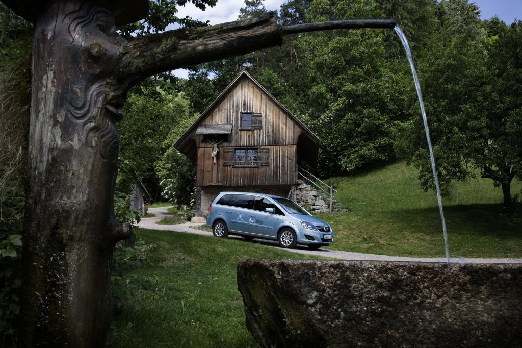 Mit dem Opel Zafira CNG Turbo Ecoflex CO2-neutral durch den Schwarzwald.