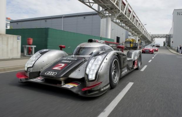 Nach Le-Mans-Unfällen: Zwei neue Audi R18 TDI für Imola