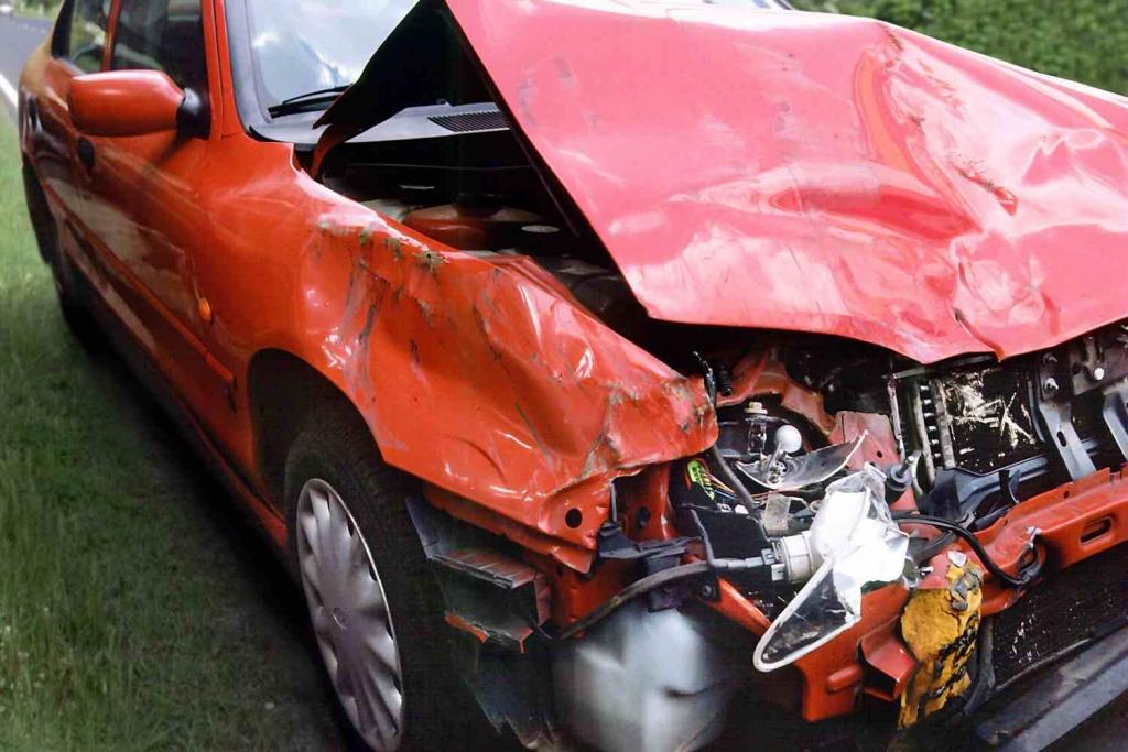 Nach Unfall - Immer der Reihe nach