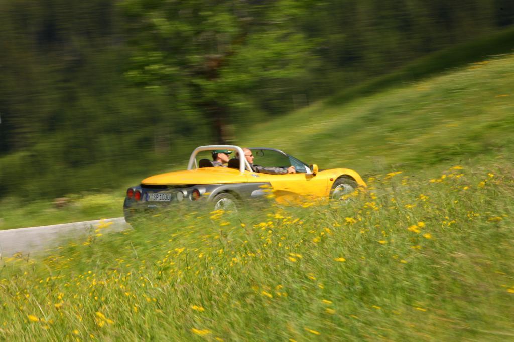 Offen und puristisch geht es durch die Alpen