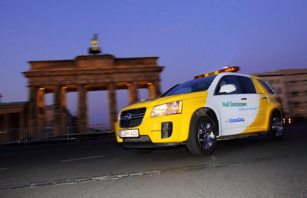 Opel-Brennstoffzellen-Testflotte legt zwei Millionen Meilen zurück